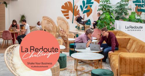 Start-up of scale-up? La Redoute Intérieurs schenkt 30000 euro aan het beste business plan!