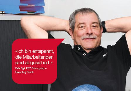 Entsorgung & Recycling Zürich: Alleinarbeiterschutz