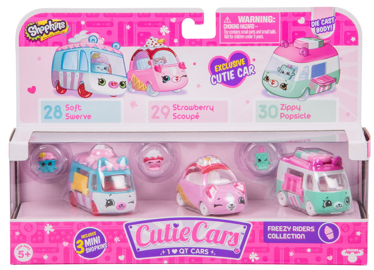 Cutie Cars Three Pack