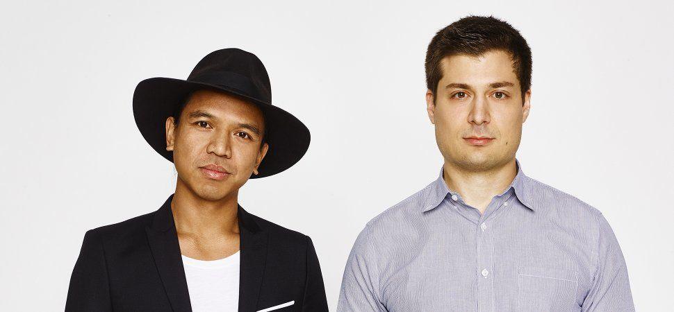 창업자 Michael Mente (좌)와 Mike Karanikolas (우)