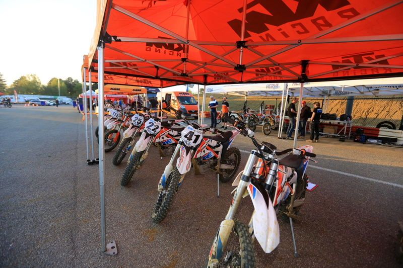 KTM Freeride E paddock, credit: CDS
