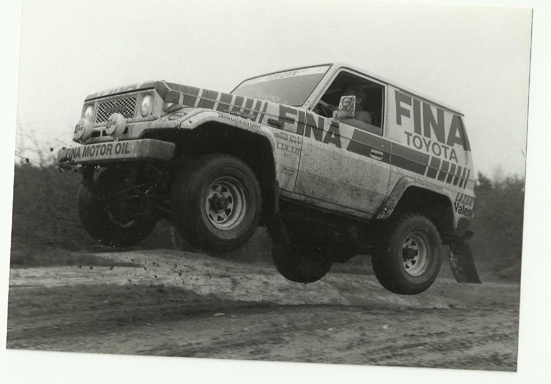 Toyota Land Cruiser Jump
