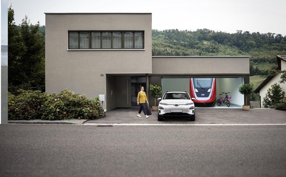 Nouveau: Green Class CFF combiné avec la Hyundai KONA electric