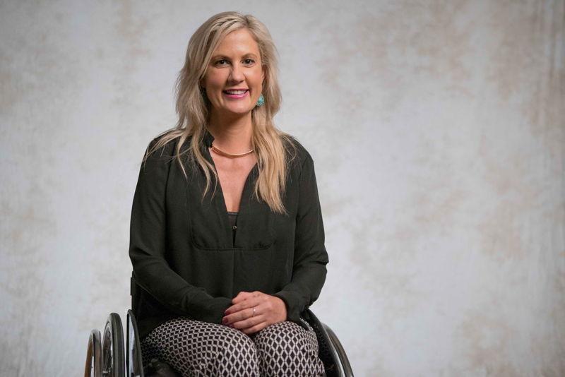 Karni Lidell Wheelchair user