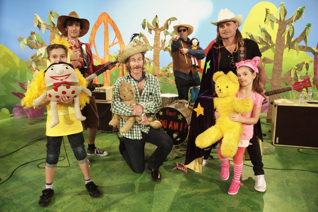 ABC KIDS' Play School toys with You Am I - Play School Celebrity Covers