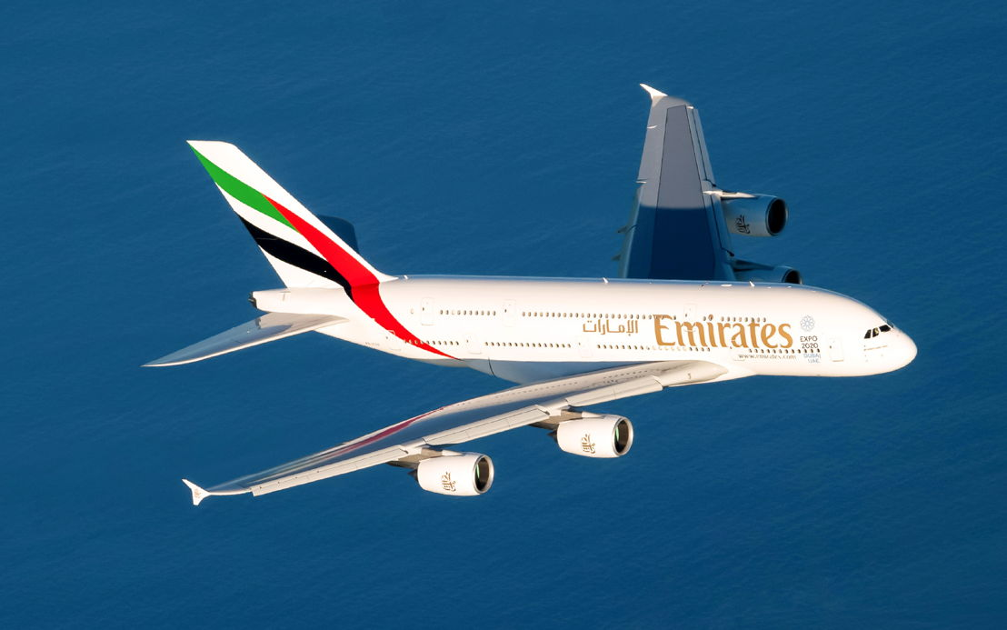 The Emirates Airbus A380