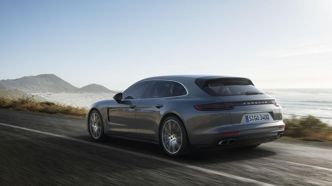2017: Porsche Panamera Turbo Sport Turismo. PTM con embrague multidisco controlado hidráulicamente