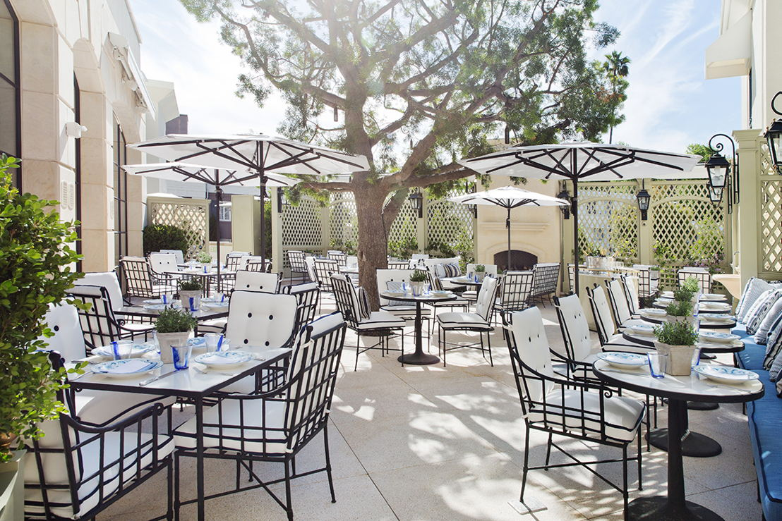 The Peninsula Beverly Hills: Terrace Hour Temptations