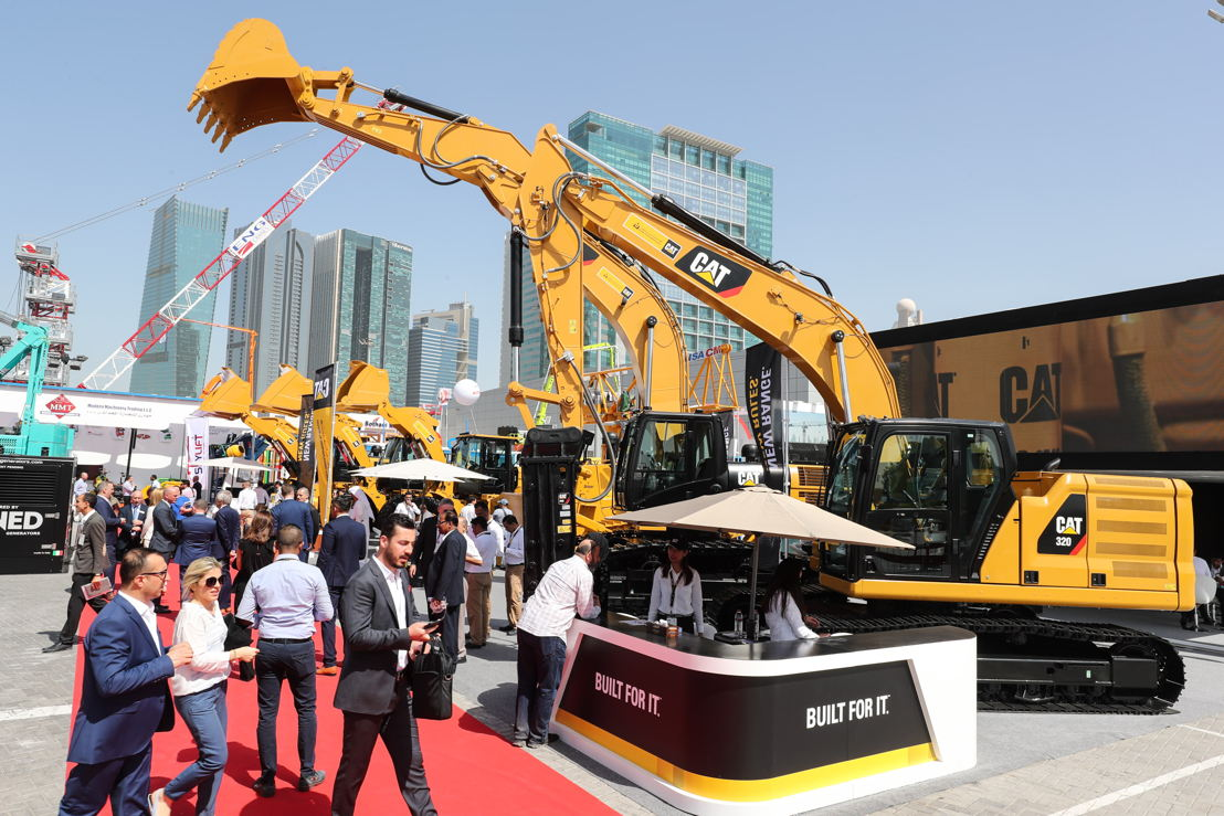Packed outdoor area of The Big 5 Heavy exhibition on its opening day