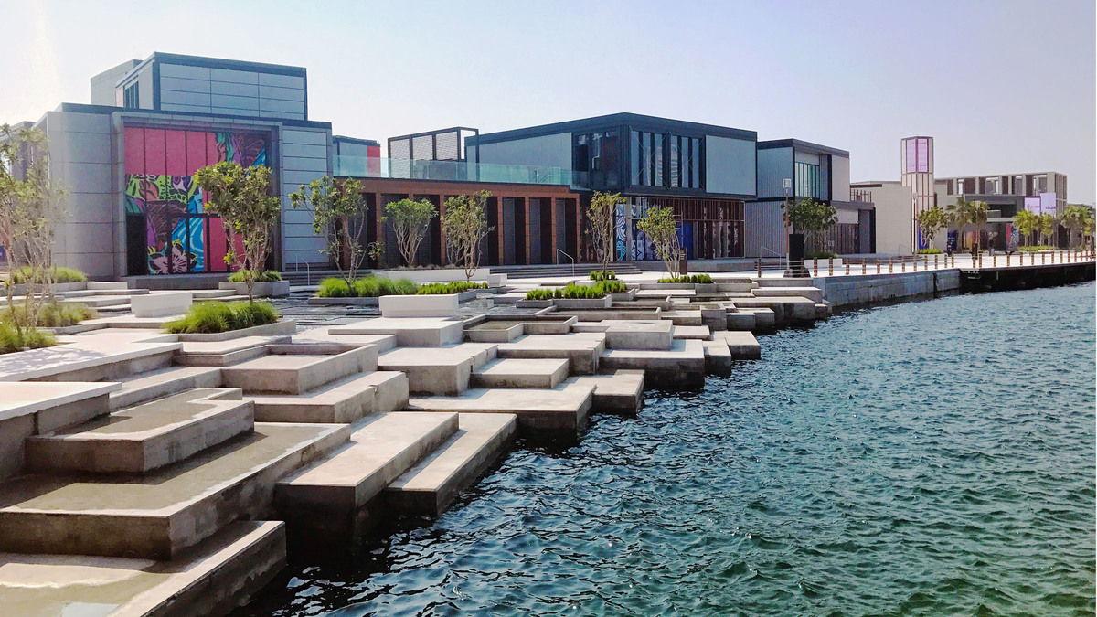 The new Al Seef District in Dubai