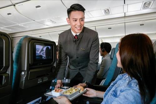 Una nuova offerta culinaria prende il volo con Cathay Pacific