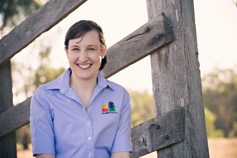 Aimee Snowden: Little Brick Farmers Tocumwal, NSW.