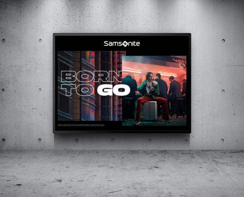 "Wunderman Thompson & Samsonite launch new 2019 global campaign ""Born to Go"""