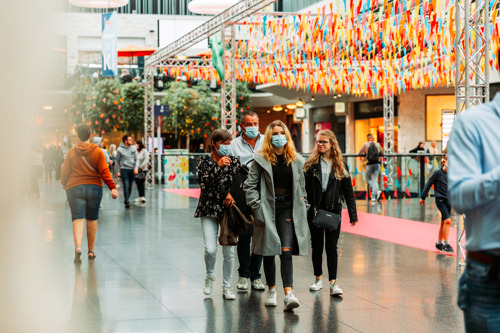 Opening horeca: tot 14 procent meer shoppers in de shoppingcenters