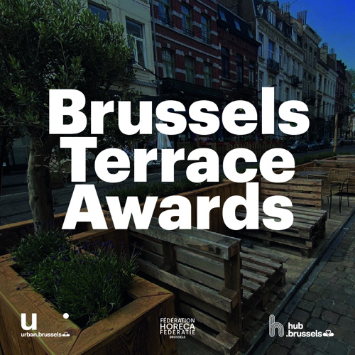 """Brussels Terrace Awards"": Brussels rewards the loveliest terraces on parking places"