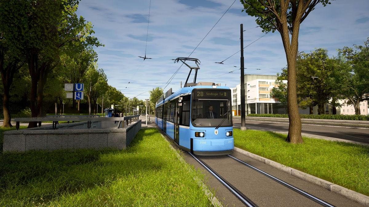 TramSim Munich führt auf drei Linien durch die Münchner Innenstadt