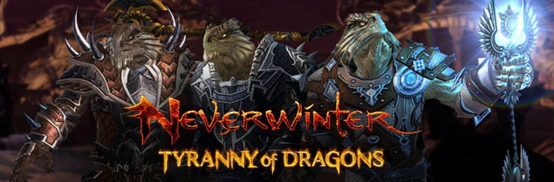 La nouvelle race des drakéides arrive sur Neverwinter