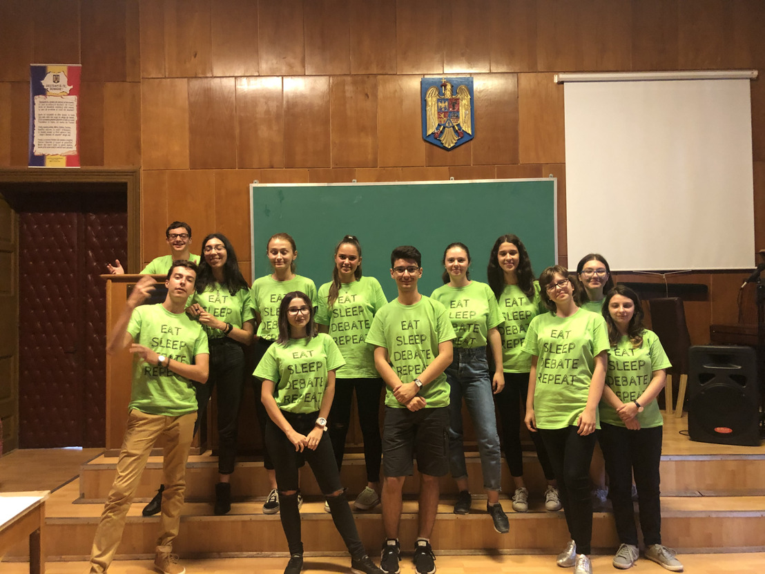 NYCUDL Students bring Debate To Romania