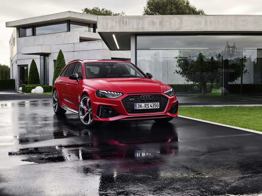 Update voor de krachtige break: de nieuwe Audi RS 4 Avant