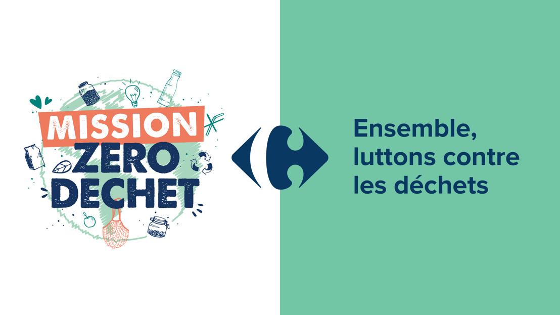 Carrefour s'associe à Denuo et lance la plateforme « Mission Zéro Déchet » : une consultation participative pour lutter contre les déchets