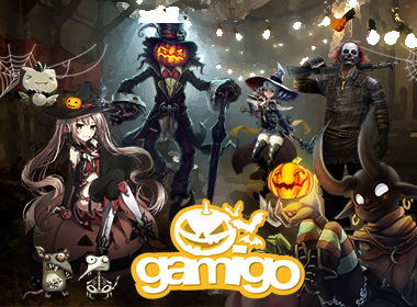 Preview: Halloween Spectacle: gamigo games haunted by Skeletons, Pumpkins, Ghosts
