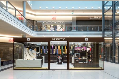 Preview:  Weltweit einzigartig: Ein neues Nespresso-Boutiquenkonzept im Einkaufszentrum La Belle Etoile