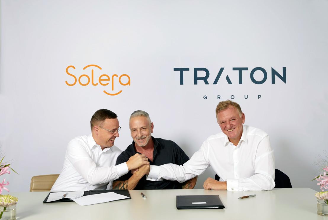 GRUPO TRATON y Solera anuncian su alianza estratégica para modelar el mundo digital en el transporte y la logística