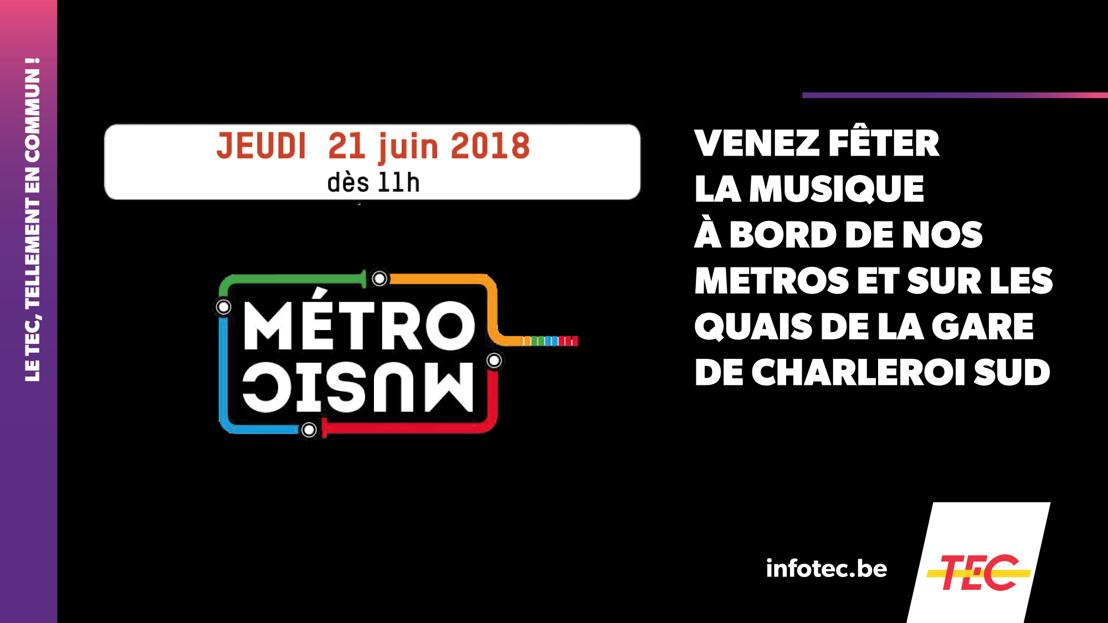 METROMUSIC 2018 – Rendez-vous ce jeudi 21 juin !