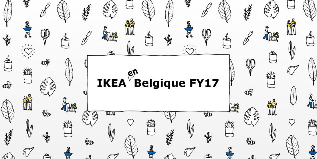 Rétrospective annuelle : que s'est-il passé chez IKEA Belgique en 2017 ?