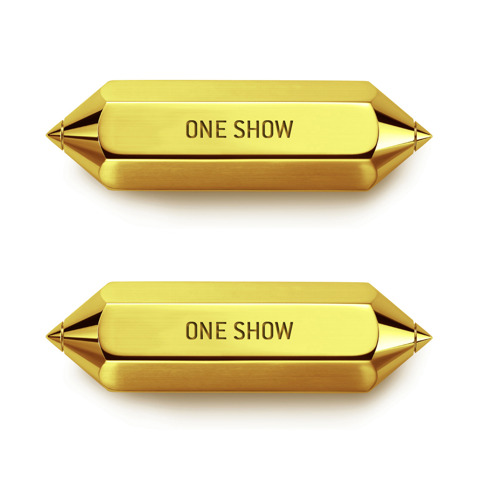 FamousGrey wins 2 GOLD PENCILS at The One Show with Remumber and Klarafy!