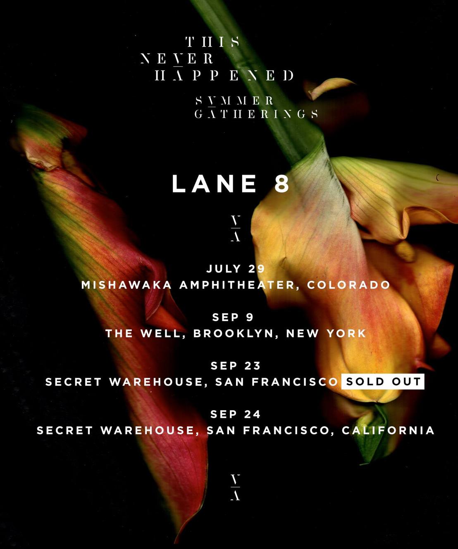 Lane 8's Seminal Mixtape Series Returns - Summer 2017