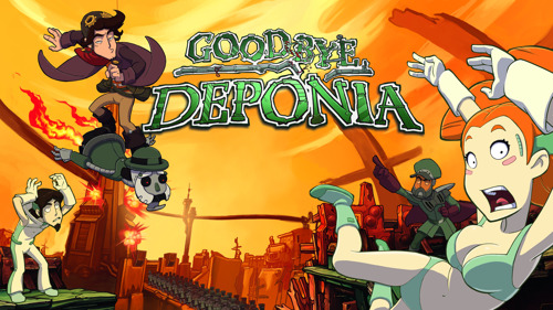 Out Now: Goodbye Deponia for PlayStation 4 and Xbox One
