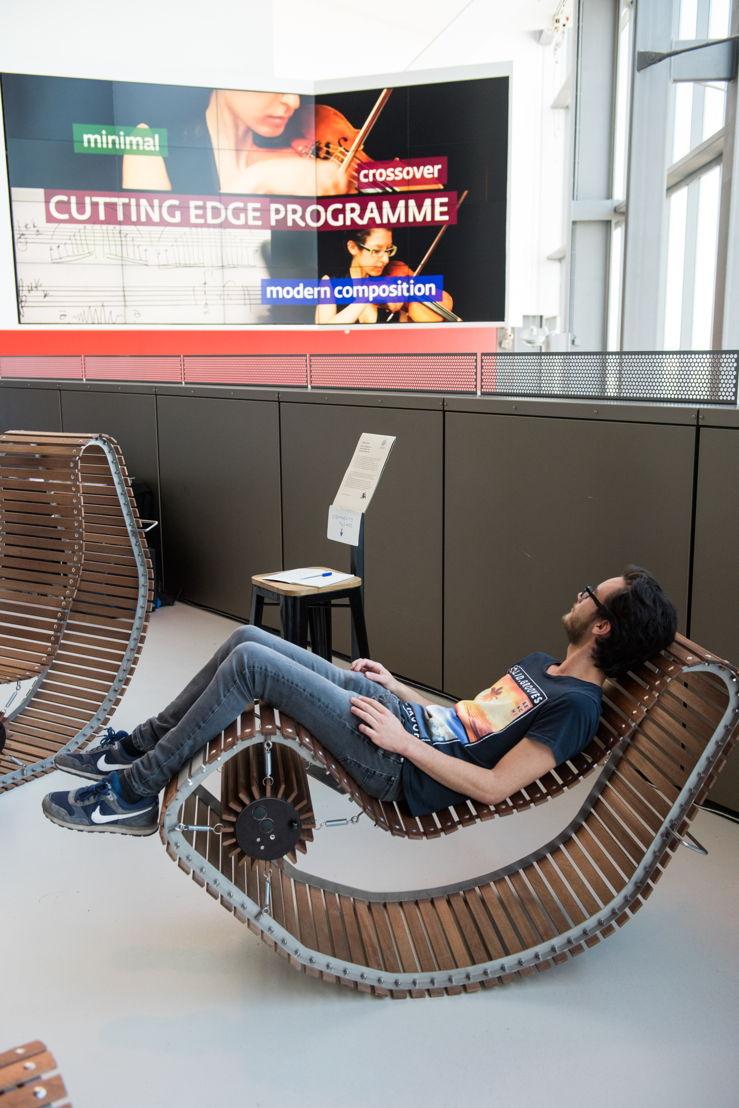 Rocking Chairs in Festival Hub (c) Anna van Kooij