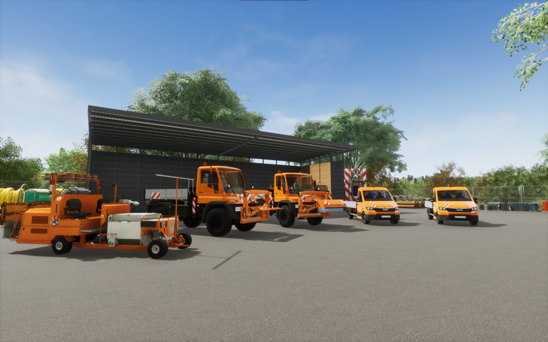 Aerosofts Line-Up zur gamescom 2021: Straßenmeisterei Simulator