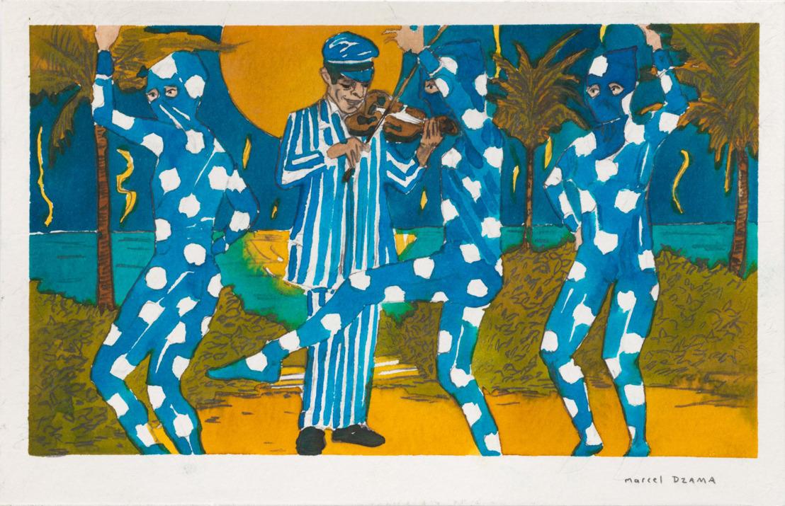 Marcel Dzama's eerste solotentoonstelling bij Tim Van Laere Gallery viert het post-Trump tijdperk