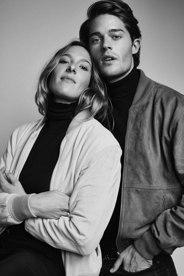"""Laura Praet & Cesar Casier - """"Bomber Jacket"""" ©Alexander Popelier"""