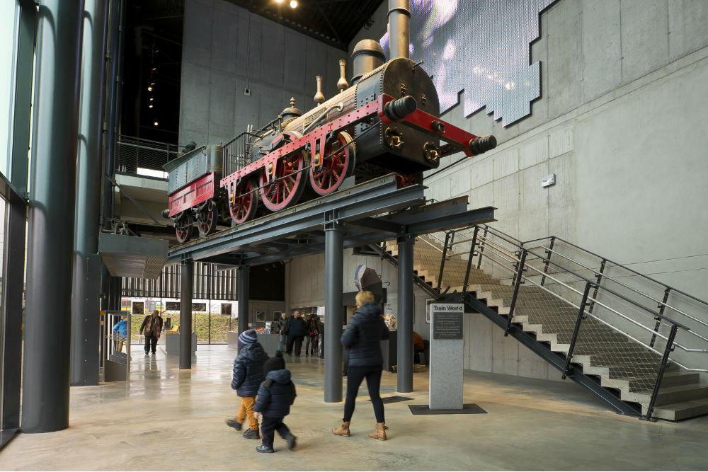 Trainworld - Schaerbeek (Sum Project)
