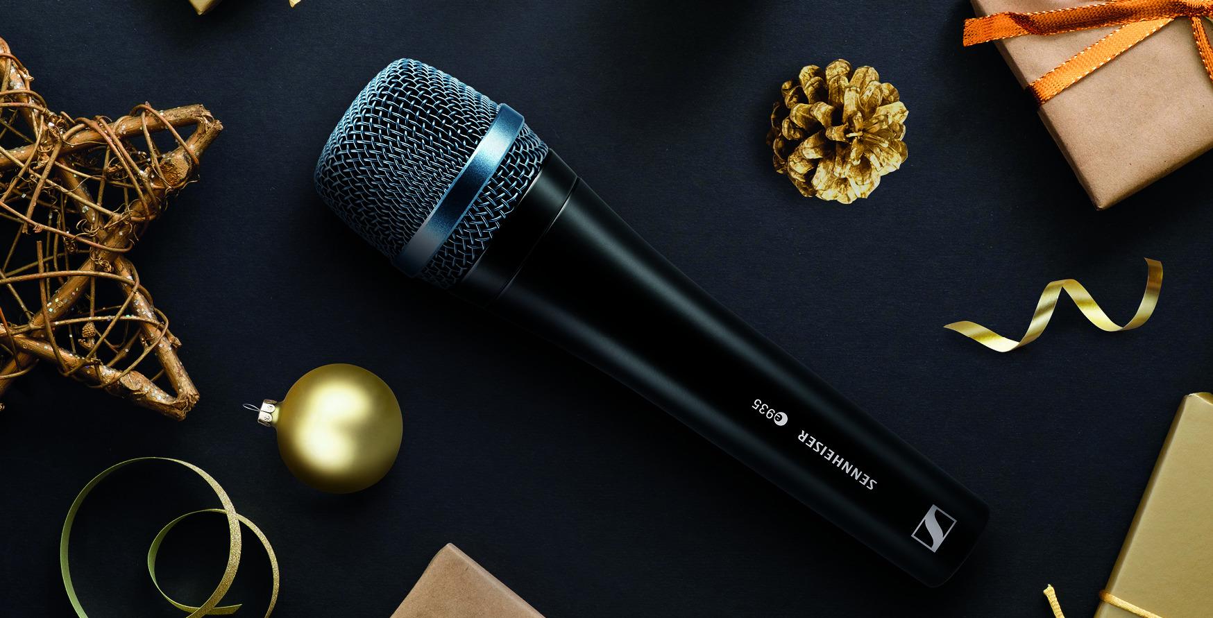 Le micro en amont de Noël : Comment enregistrer le parfait son de fête