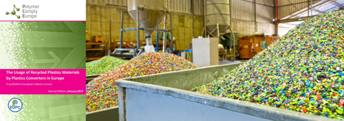 EuPC publishes results of its 2nd survey on the use of recycled plastics materials