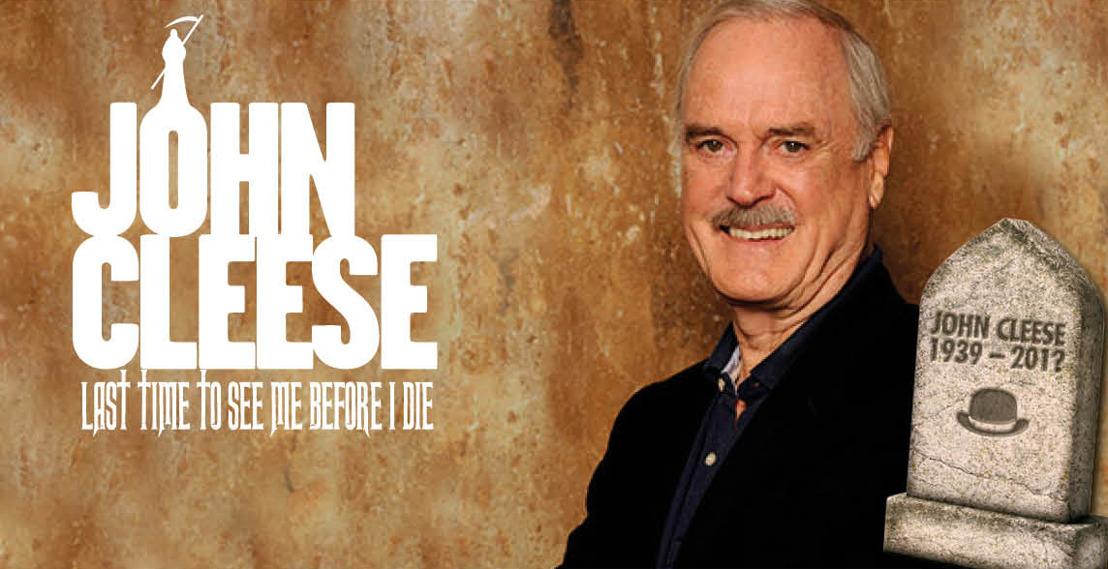 Brits comedy icoon John Cleese komt naar België!