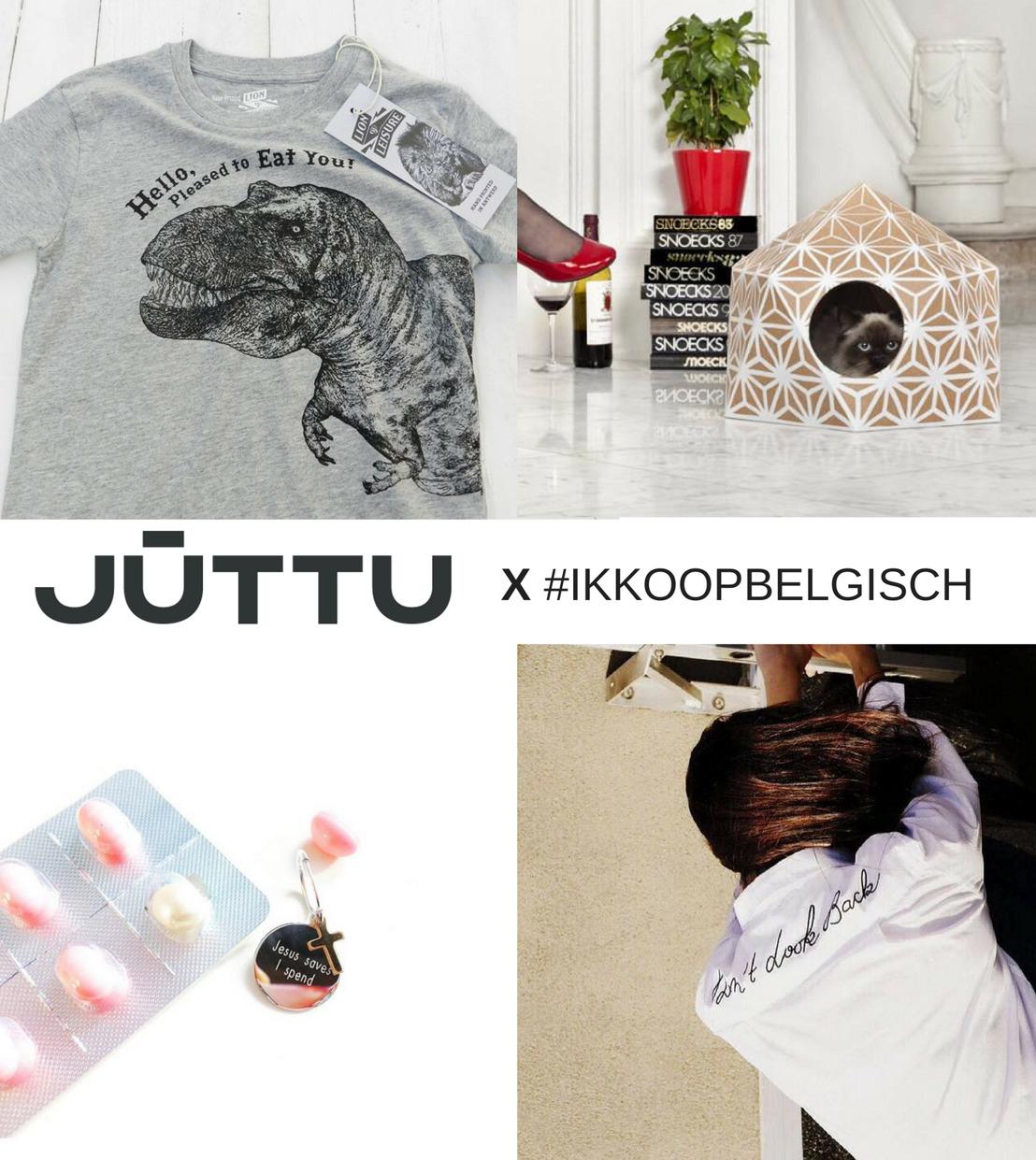 persbericht: Nieuwe editie #ikkoopbelgisch pop-up space bij concept store JUTTU