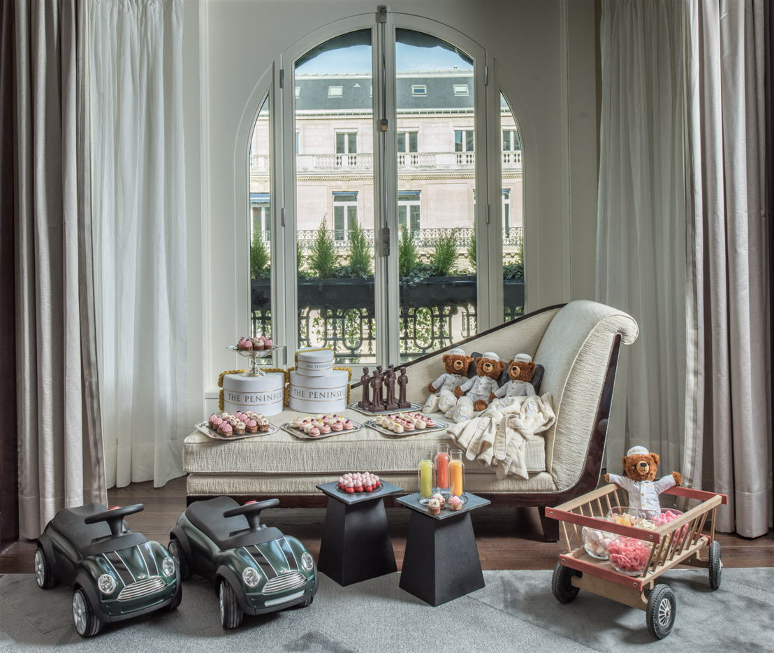 The Peninsula Paris Kids Amenity Vert