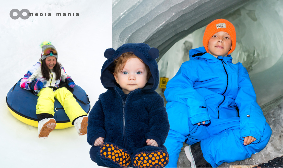 Trends Snow Kids FW18 // Snowball fights and snowtubing