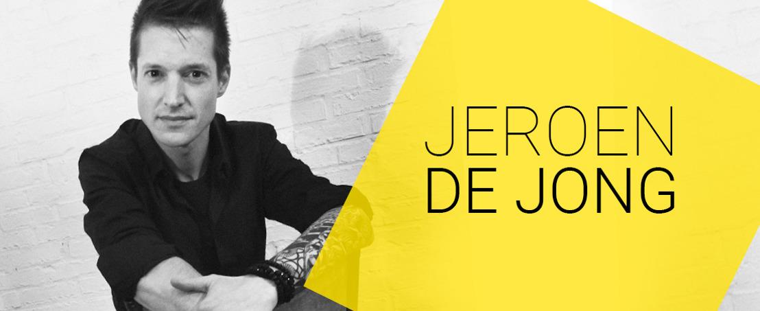 Jeroen De Jong, very content at Head Office