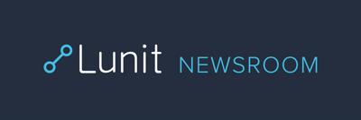 루닛 (Lunit) 보도실 Logo