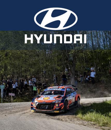 Hyundai Motorsport obtiene podio en el WRC de Croacia