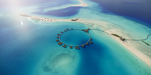 The Red Sea Development Company Identifies Optimum Location of Overwater Assets