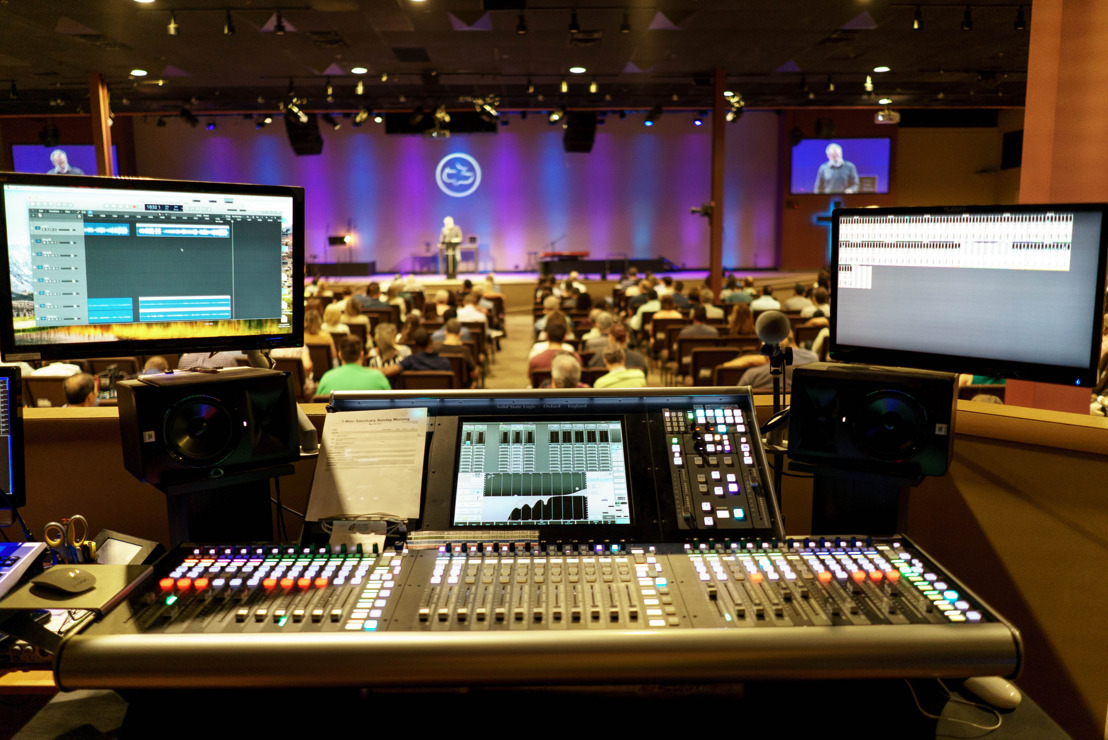 Solid State Logic Live L100 Console Plays Central Role for Streaming Worship Services at Calvary Chapel Old Bridge