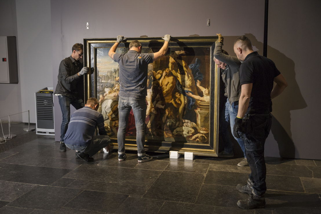 Image name: 31_Rubens, Arrival of the Massacre at the Rubens House, The Thomson Collection at the Art Gallery of Ontario, Art Gallery of Ontario, photo Ans Brys.jpg