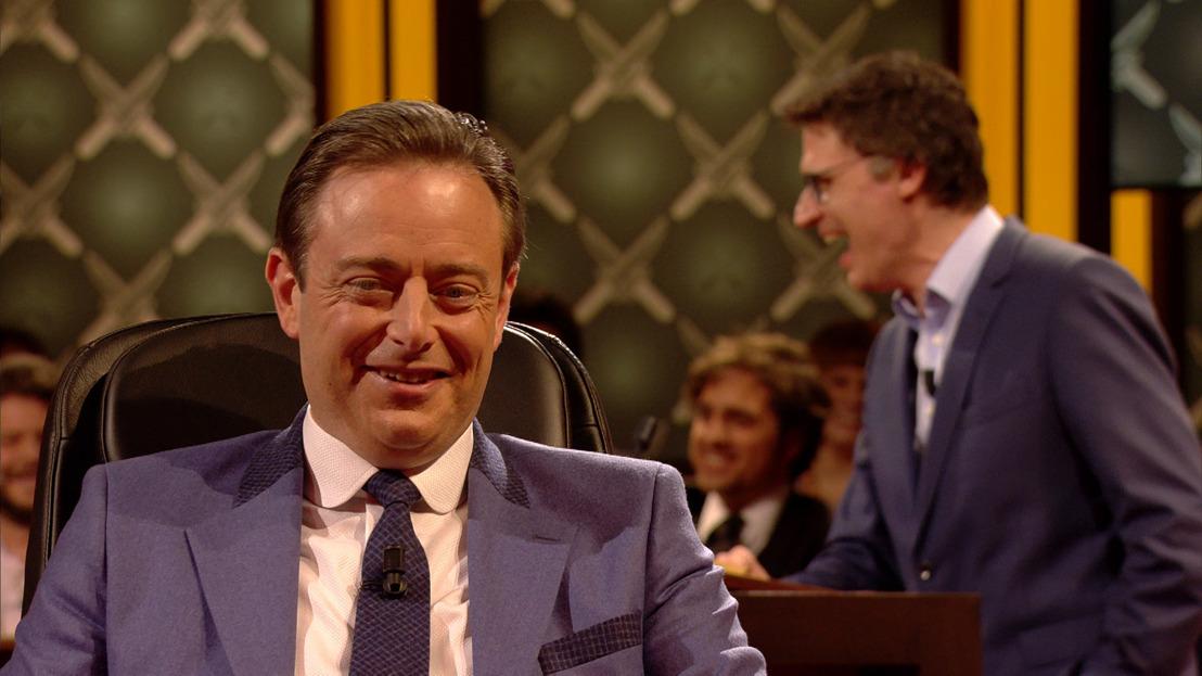Een duwtje Achter de Rug van Bart De Wever?